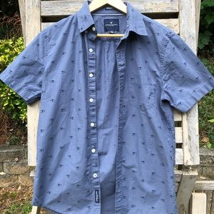 AEO button up shirt